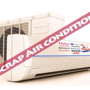 scrap air conditions