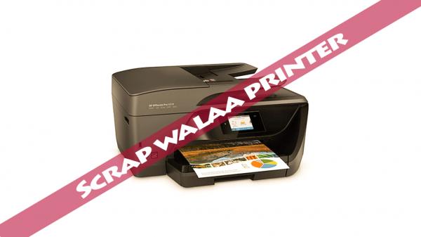 scrap printer