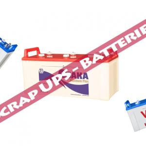 scrap ups batteries